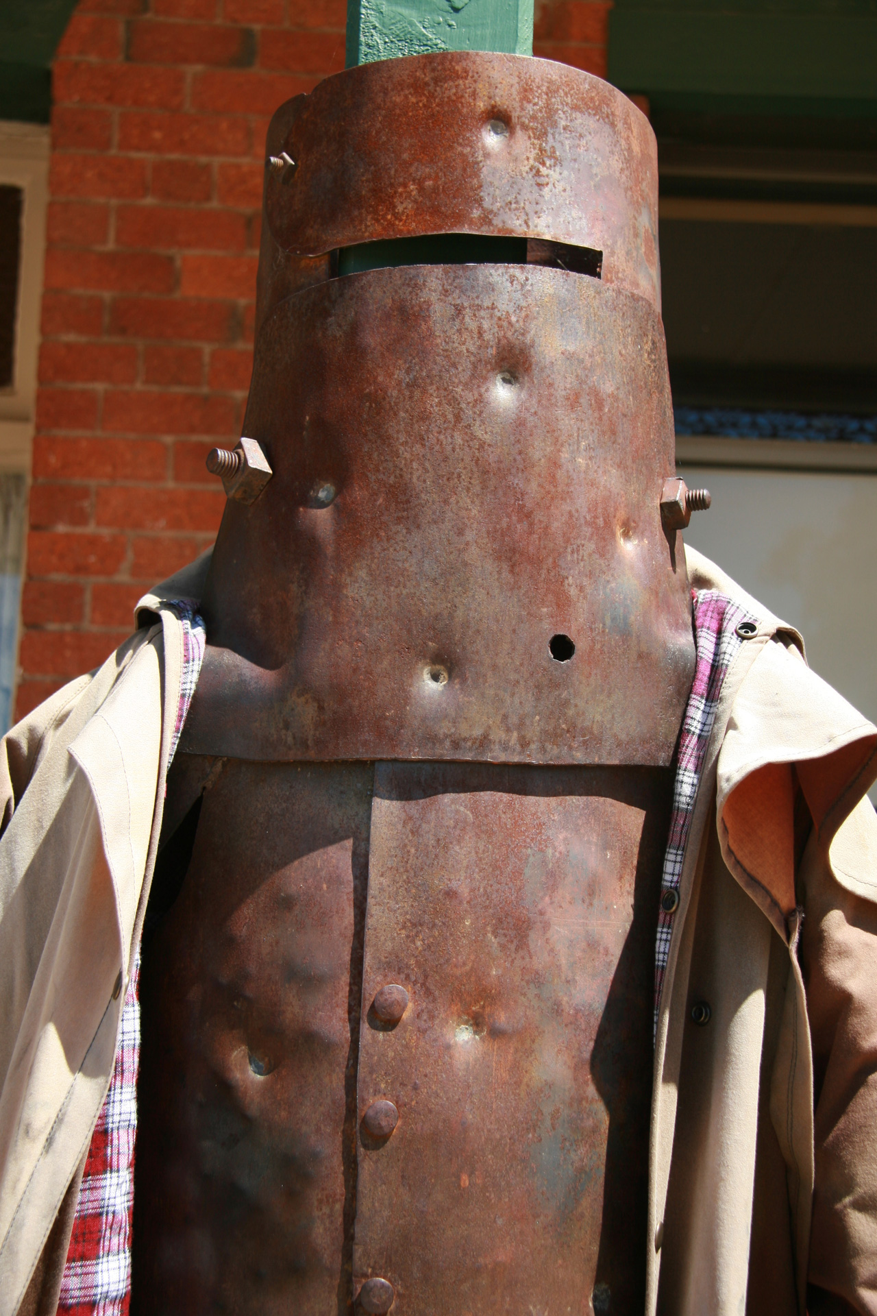 ned kelly armour replica