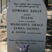 kelly family gravestone