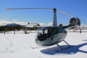 Helicopter to Craig's Hut