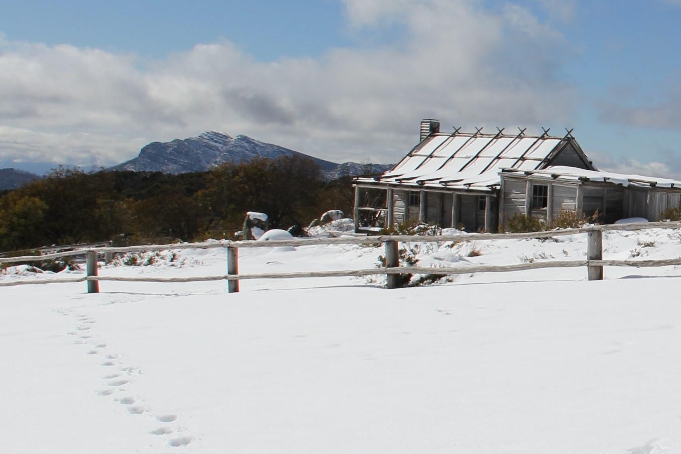 Winter Craig's Hut
