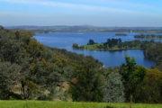 A view of Sugarloaf Reservoir
