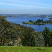 A view of Sugarloaf Reservoir