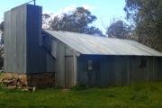 Back of Lovick's Hut